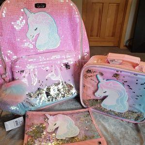 New Unicorn Backpack Bundle